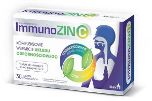 ImmunoZIN C na odporność 30 tabl.