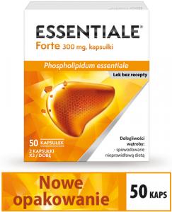 Essentiale Forte 300mg x 50 kaps.